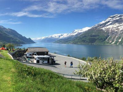 Campingplasser i Fjord Norge