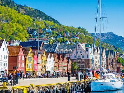 Bergen: En nydelig by på vestkysten av Norge