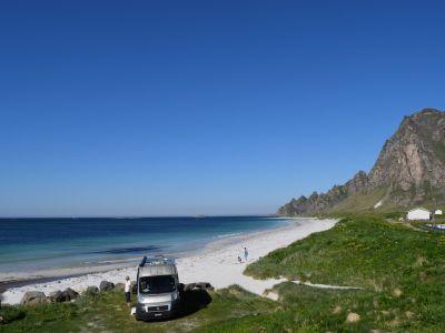 Campingplasser i Nordland (Nord), Lofoten og Vesterålen