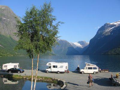 Campingplasser i Sogn og Fjordane nær Olden, Stryn, Nordfjord