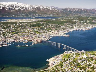 Tromsø, den største byen i Nord-Norge