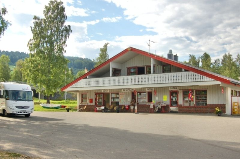 Biristrand Camping receptie