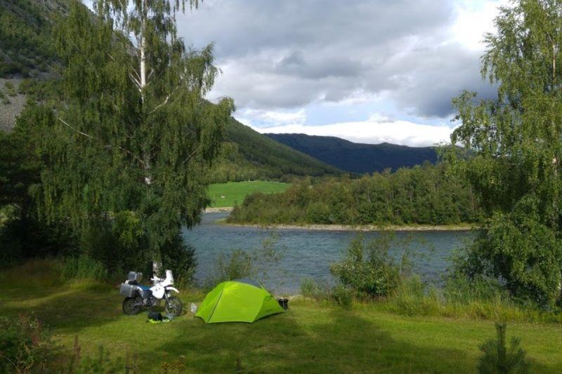 Bispen Camping tentplaatsen
