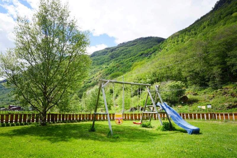Borgund Hyttesenter og Camping speelttuin