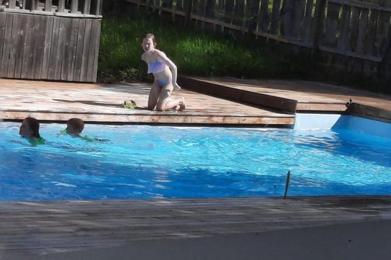 Camping Nissegarden Hytter og Aktiviteter zwembad