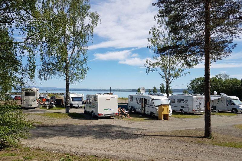 Evjua Camping Skreia Kampeerplaatsen