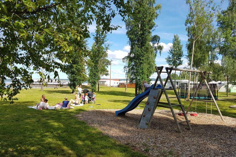 Evjua Camping Skreia speeltuin