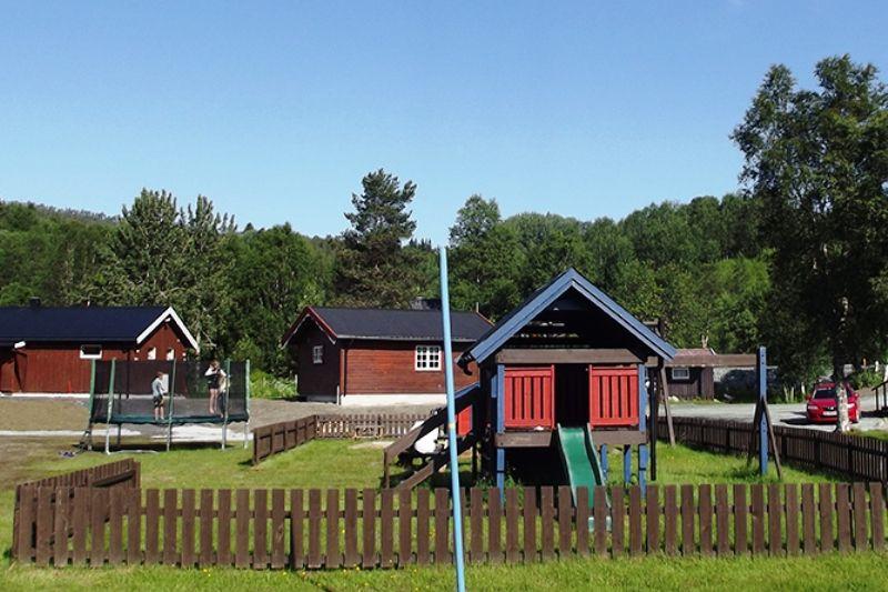 Harran Camping speeltuin en trampoline