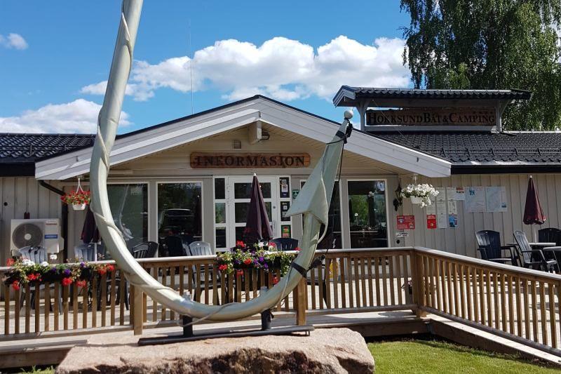 Hokksund Camping entree