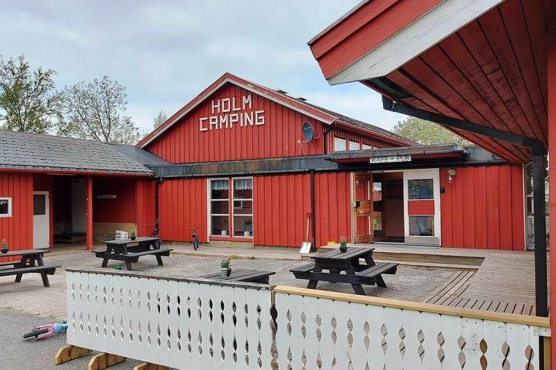 Holm Camping Bindalseidet receptie