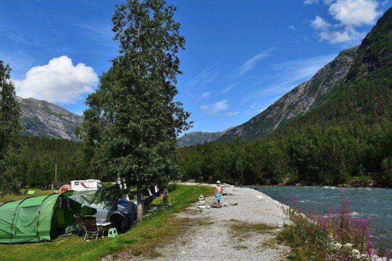 Jostedal Camping Kampeerplaatsen