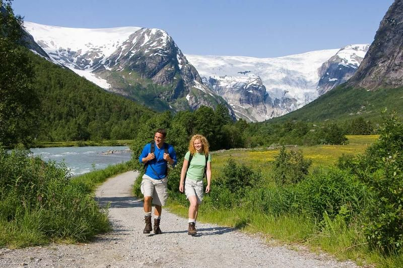 Jostedal Camping wandelen