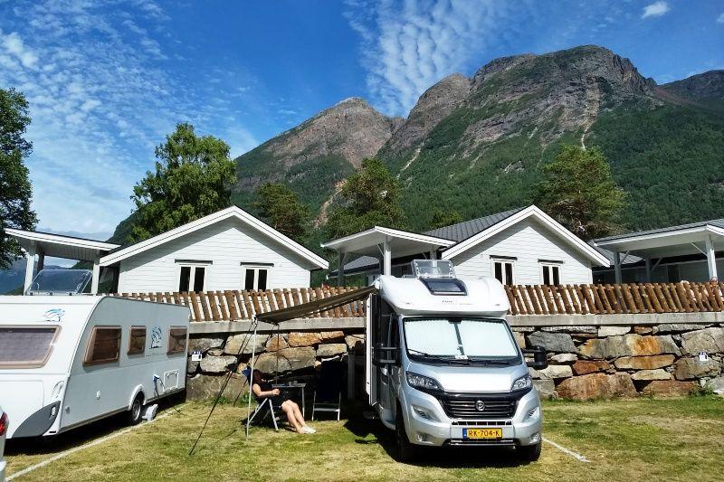 Kinsarvik Camping Kampeerplaatsen