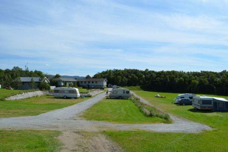 Leka Motell og Camping Kampeerplaatsen