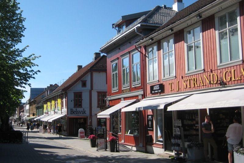 Lillehammer Turistsenter bezoek centrum Lillehammer