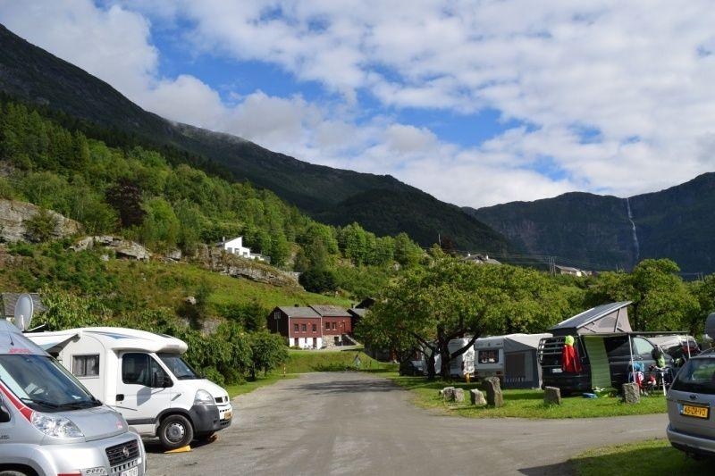Lofthus Camping Kampeerplaatsen
