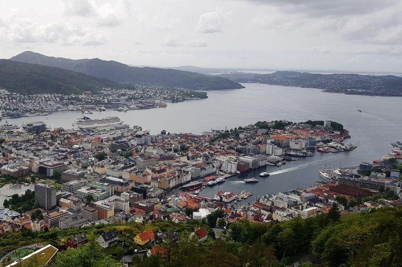 Lone Camping Bergen Floibanen