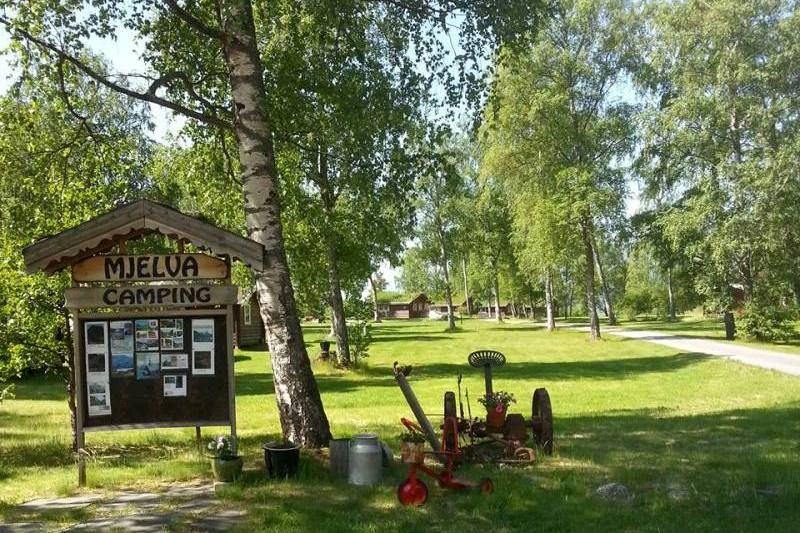 Mjelva Camping entree