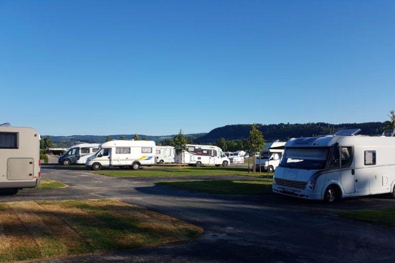Mjosa Ferie og Fritidssenter camperplaatsen