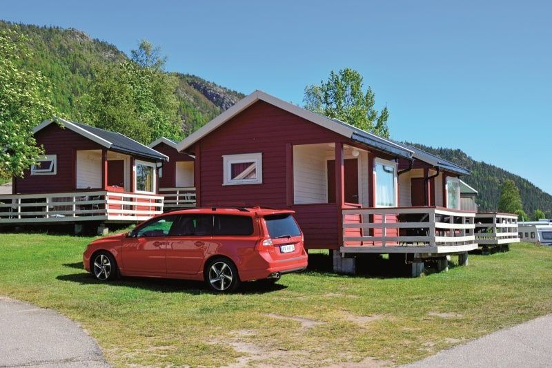 Neset Camping Byglandsfjord Hytter