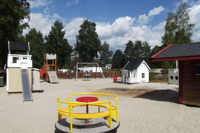 Odden Camping Evje speeltuin