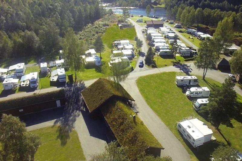 Odden Camping Evje overzicht
