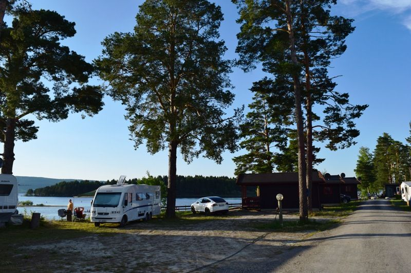 Odin Camping Royse Kampeerplaatsen direct aan het water