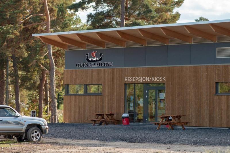 Odin Camping Royse nieuw centrumgebouw