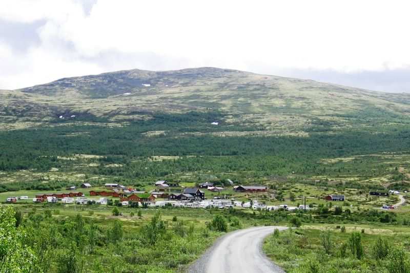 PlusCamp Hageseter Turisthytte og Camping ligging