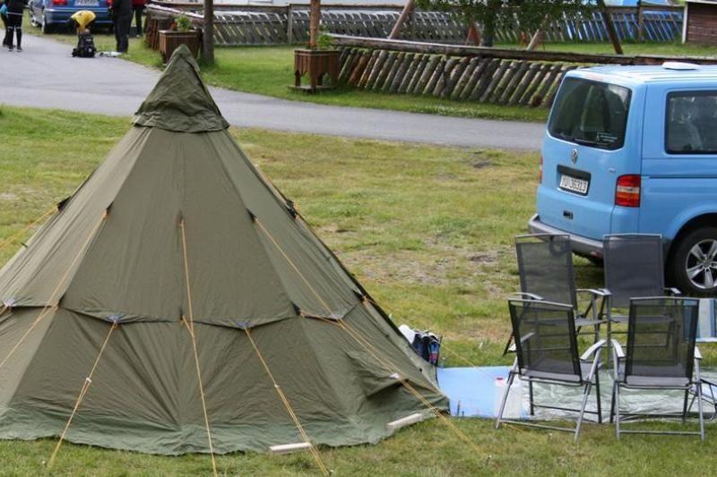 PlusCamp Mosjoen Camping kampeerplaatsen voor tenten