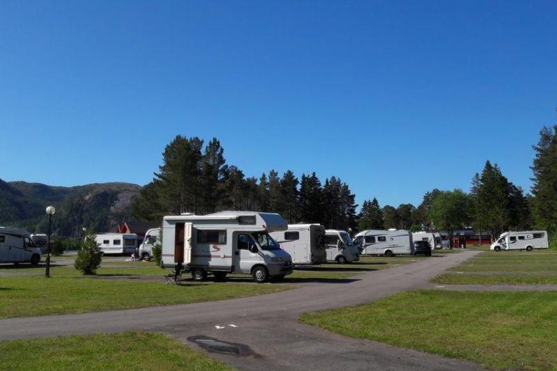 PlusCamp Namsos Camping verharde kampeerplaatsen