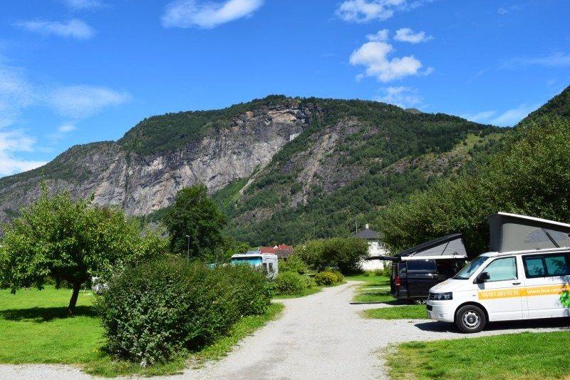 PlusCamp Sandvik Gaupne verharde kampeerplaatsen