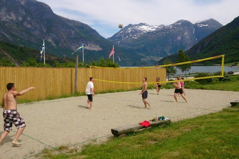 PlusCamp Strynsvatn Camping beachvolleybalveld