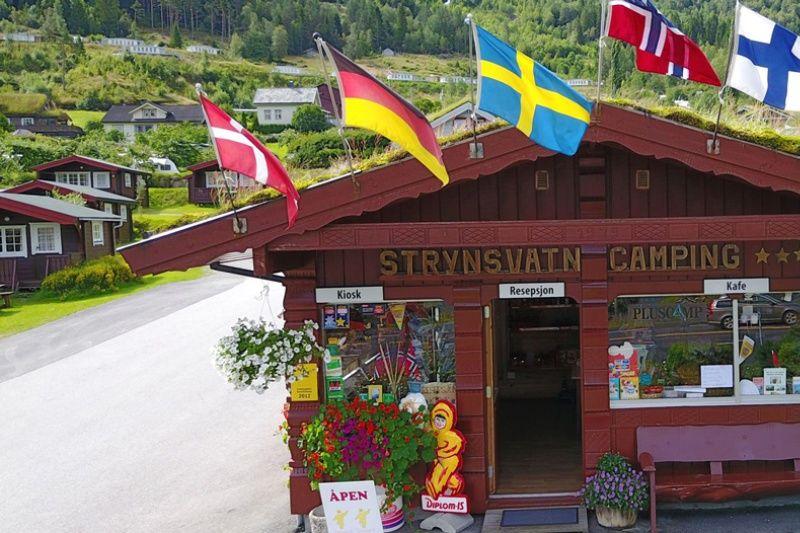 PlusCamp Strynsvatn Camping receptie