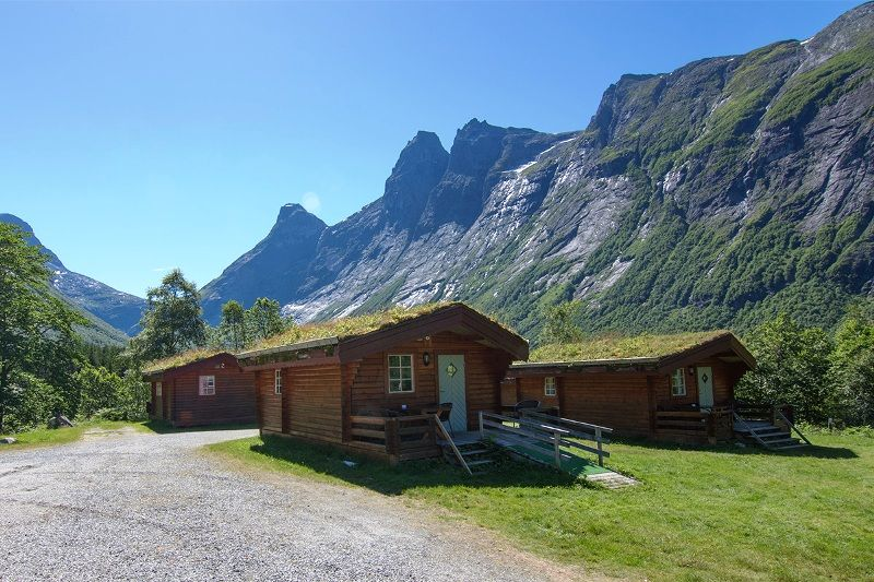 PlusCamp Trollstigen Camping og Gjestegard vakantiehuisjes