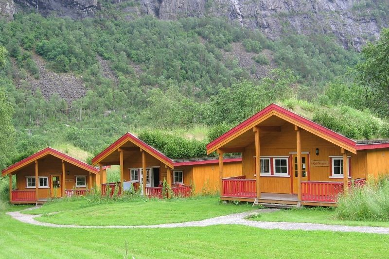 Rjukan Hytte og Caravanpark, Miland, Rjukan, Telemark, Norge