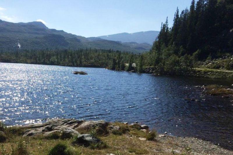 Rjukan Hytte og Caravanpark waterrijke omgeving