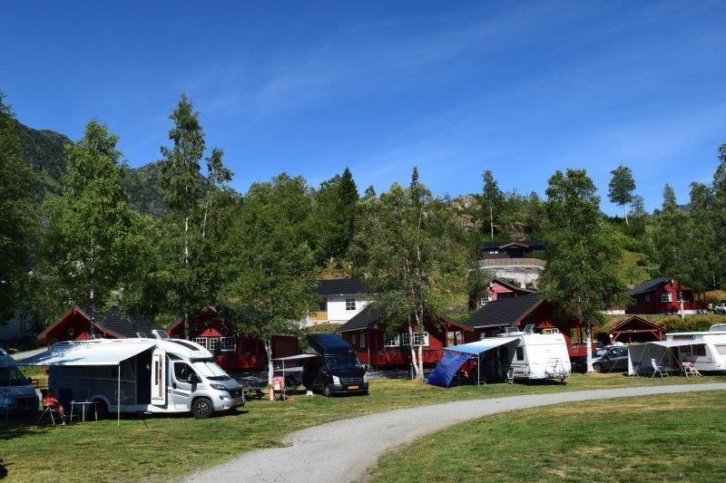 Roldal Hyttegrend og Camping Kampeerplaatsen