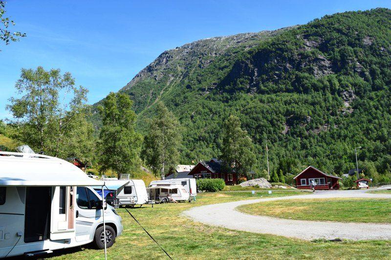 Roldal Hyttegrend og Camping Uitzicht