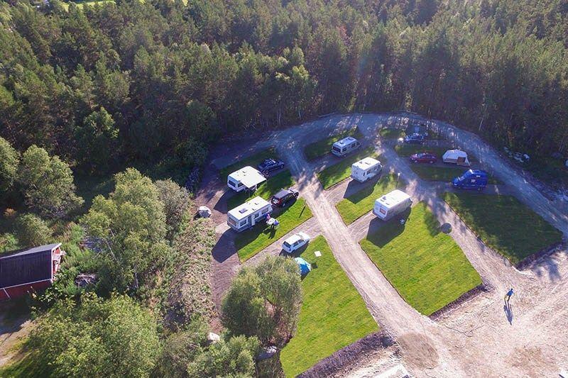 Roste Hyttetun og Camping nieuwe camperplaatsen