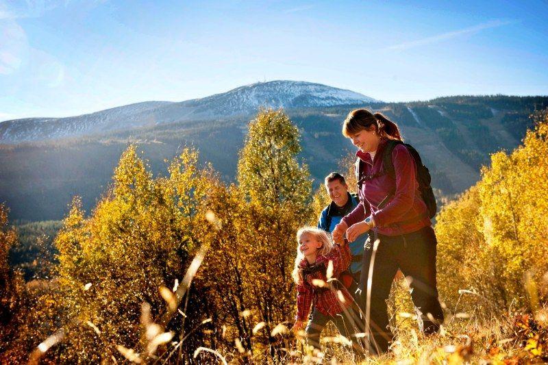 Saeterasen Hytter og Camping Trysil wandelen