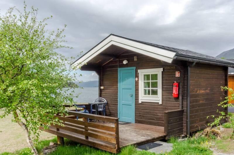 Saltkjelsnes Camping hytter