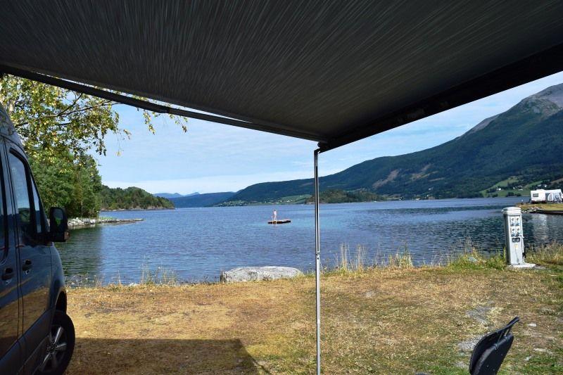 Saltkjelsnes Camping kampeerplaatsen