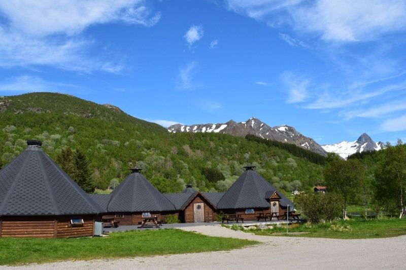 Sandsletta Camping Laukvik Lofoten Noorwegen