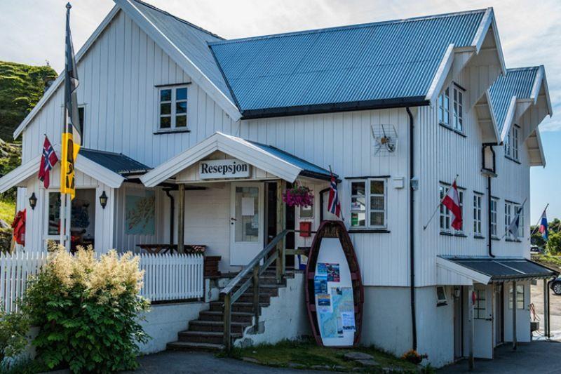 Sandvika Fjord og Sjohus Camping receptie