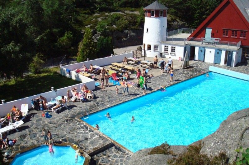 Skottevik Feriesenter zwembad