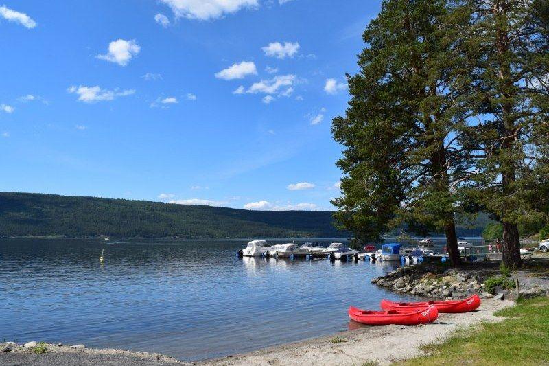 Slovika Camping strandje en kano's