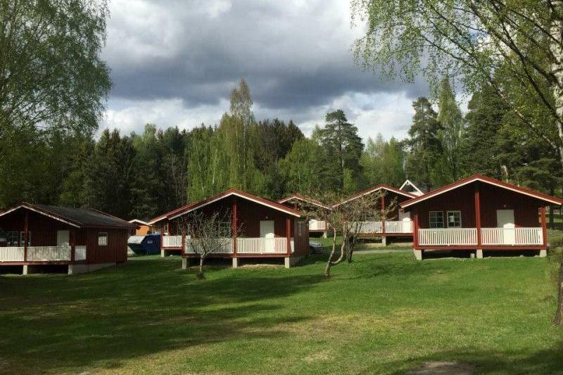 Steinvik Camping hytter