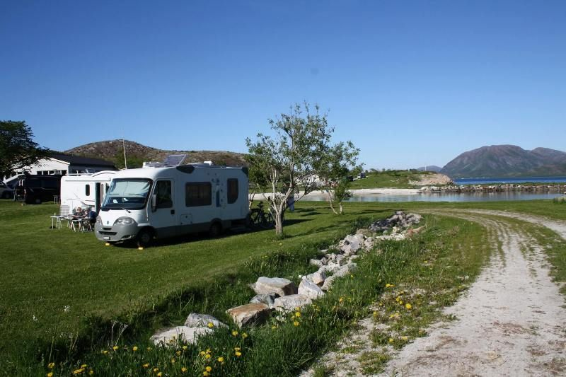 Torghatten Camping Kampeerplaatsen