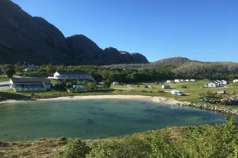 Torghatten Camping ligging